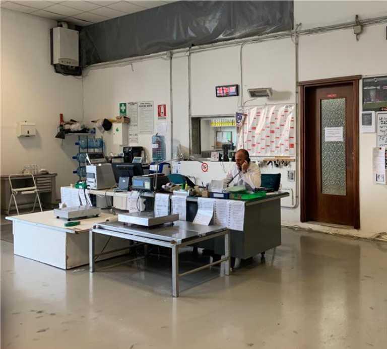 area operativa